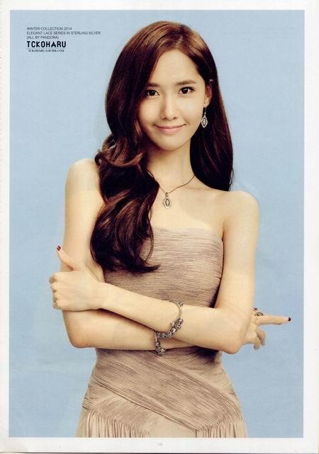 少女时代成员林允儿,韩国国民妹妹iu,miss a成员秀智和《可爱颂》原唱