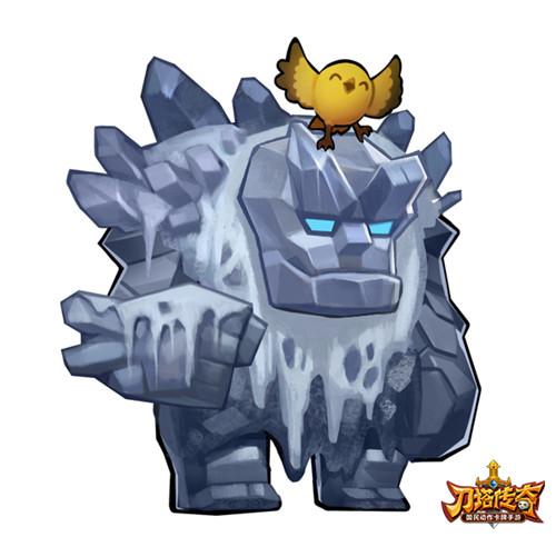 刀塔英雄小小出处_进击的巨人 《刀塔传奇》最强肉T小小觉醒_偶玩游戏