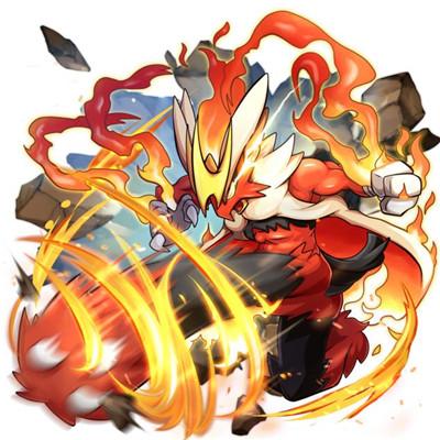 火焰鸡κ形态
