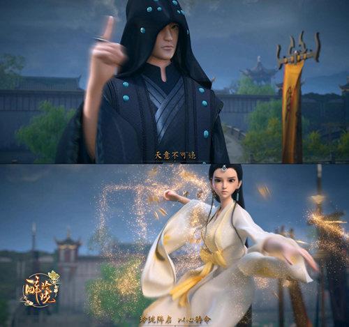 图4:《醉玲珑》手游CG凤主与玲珑使逆天一战