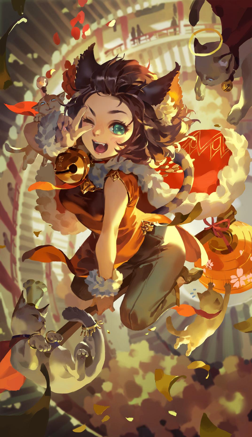 【爆料来了】灯笼祈福,软萌猫咪!周年英雄灯笼猫魅惑来袭!