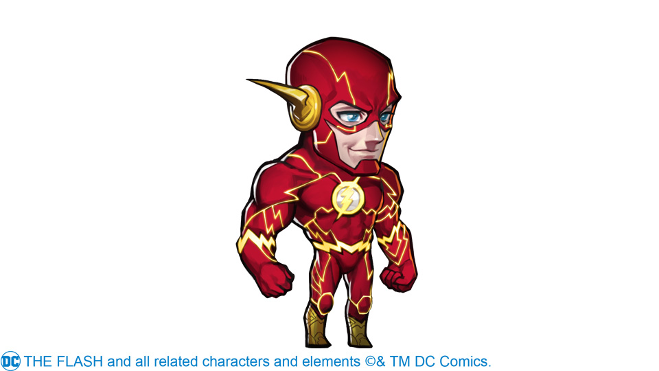 赤色闪电,光速冲击,DC授权闪电侠神速来袭!