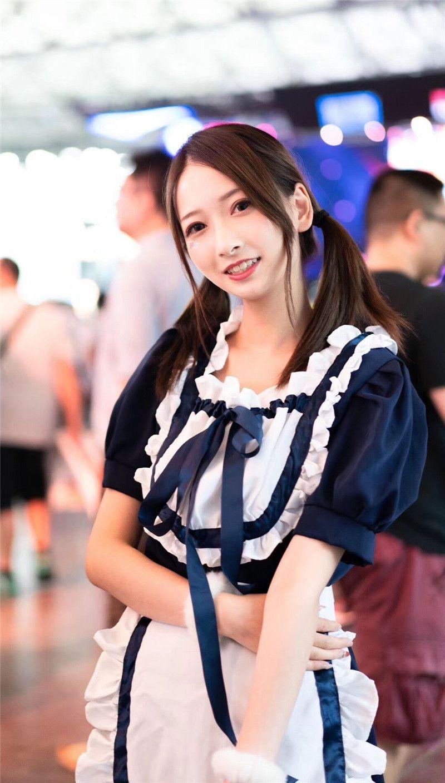 多图盘点2018ChinaJoy最美小姐姐:张张都是珍藏私品